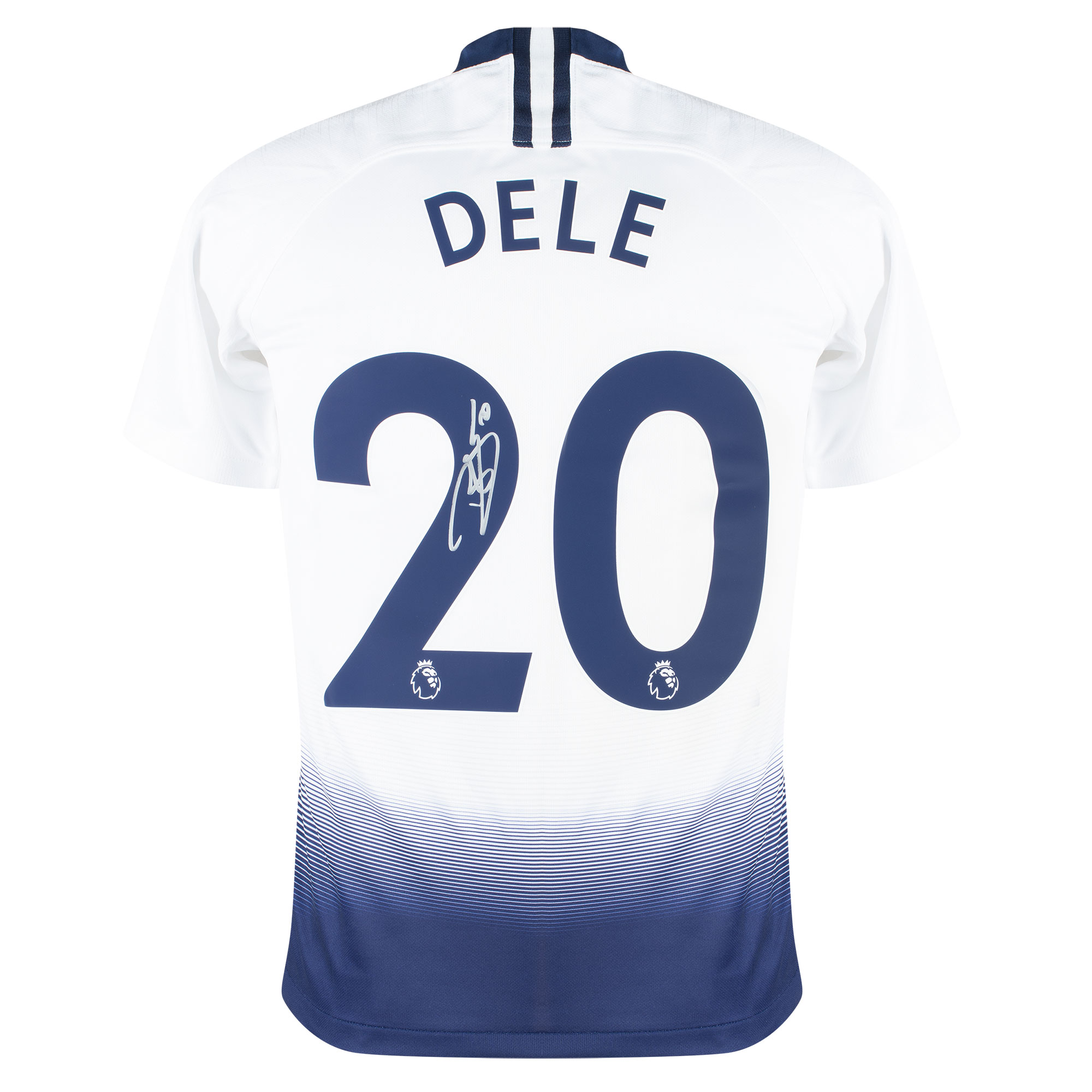 Dele Alli Back Signed Tottenham Hotspur Home Shirt 2018-2019