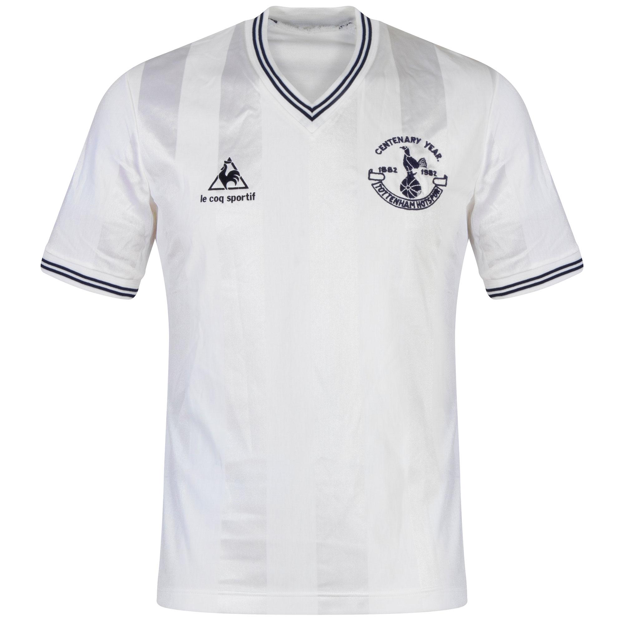 Le Coq Sportif Tottenham Hotspur Home 1982 Centenary Shirt - USED Condition (Excellent)