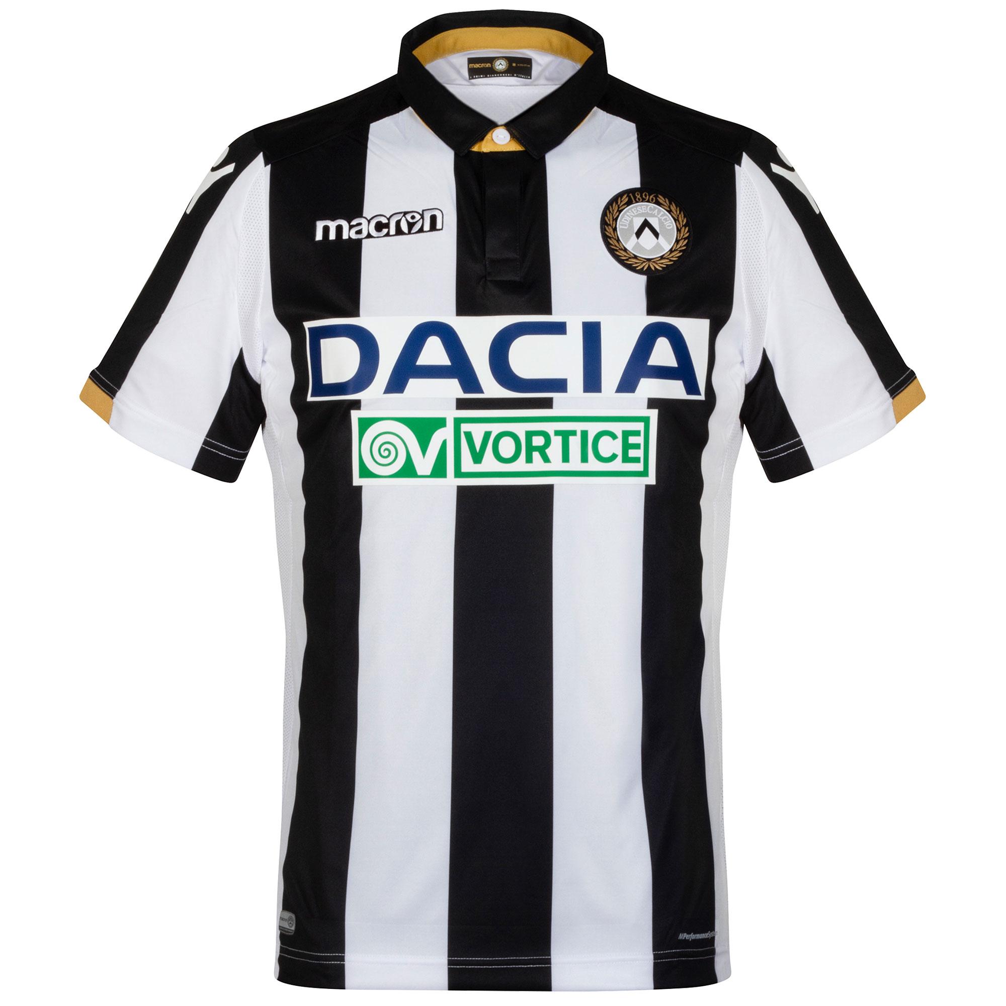 Udinese home shirt