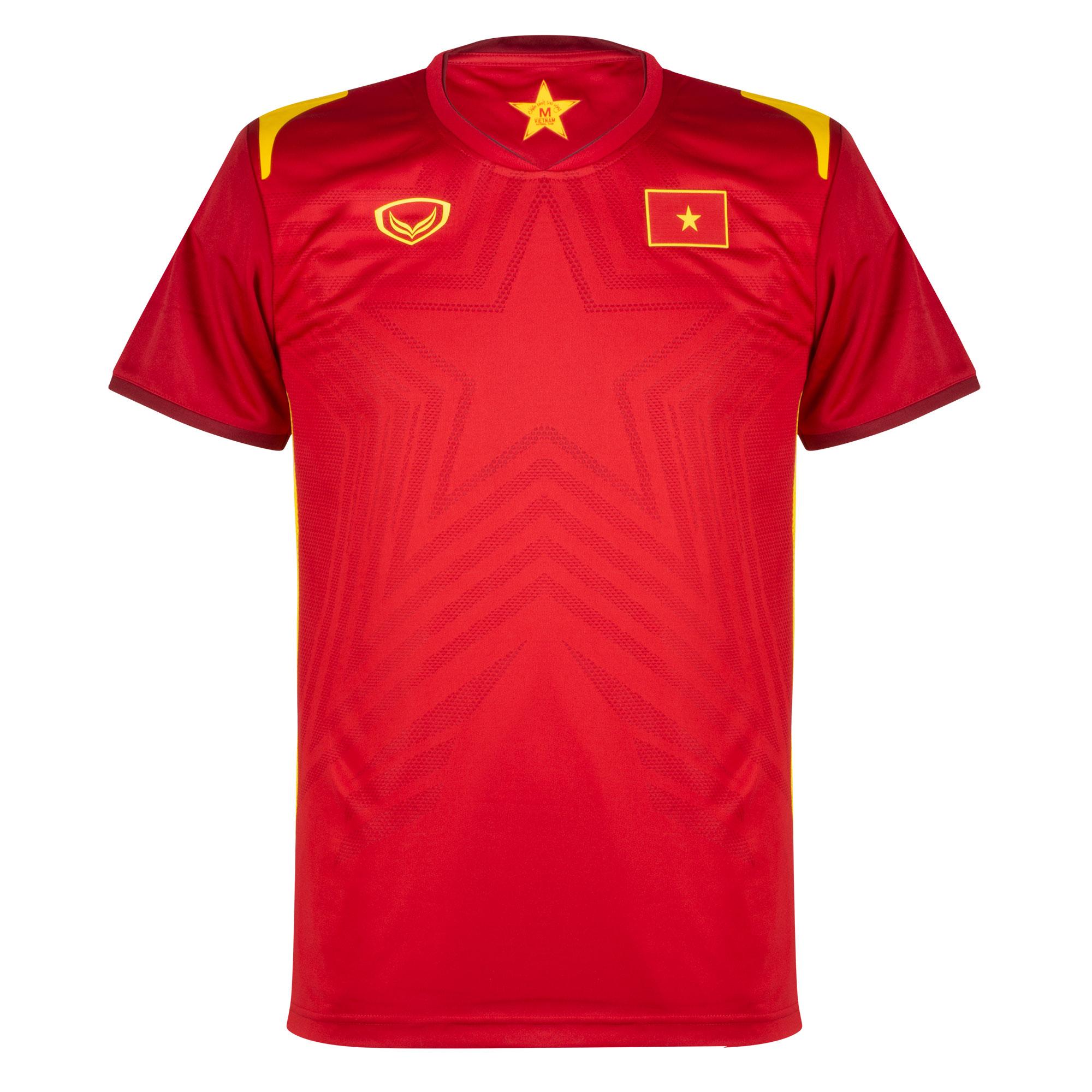 Grand Sport Vietnam Home Shirt (Slim Fit) 2021-2022