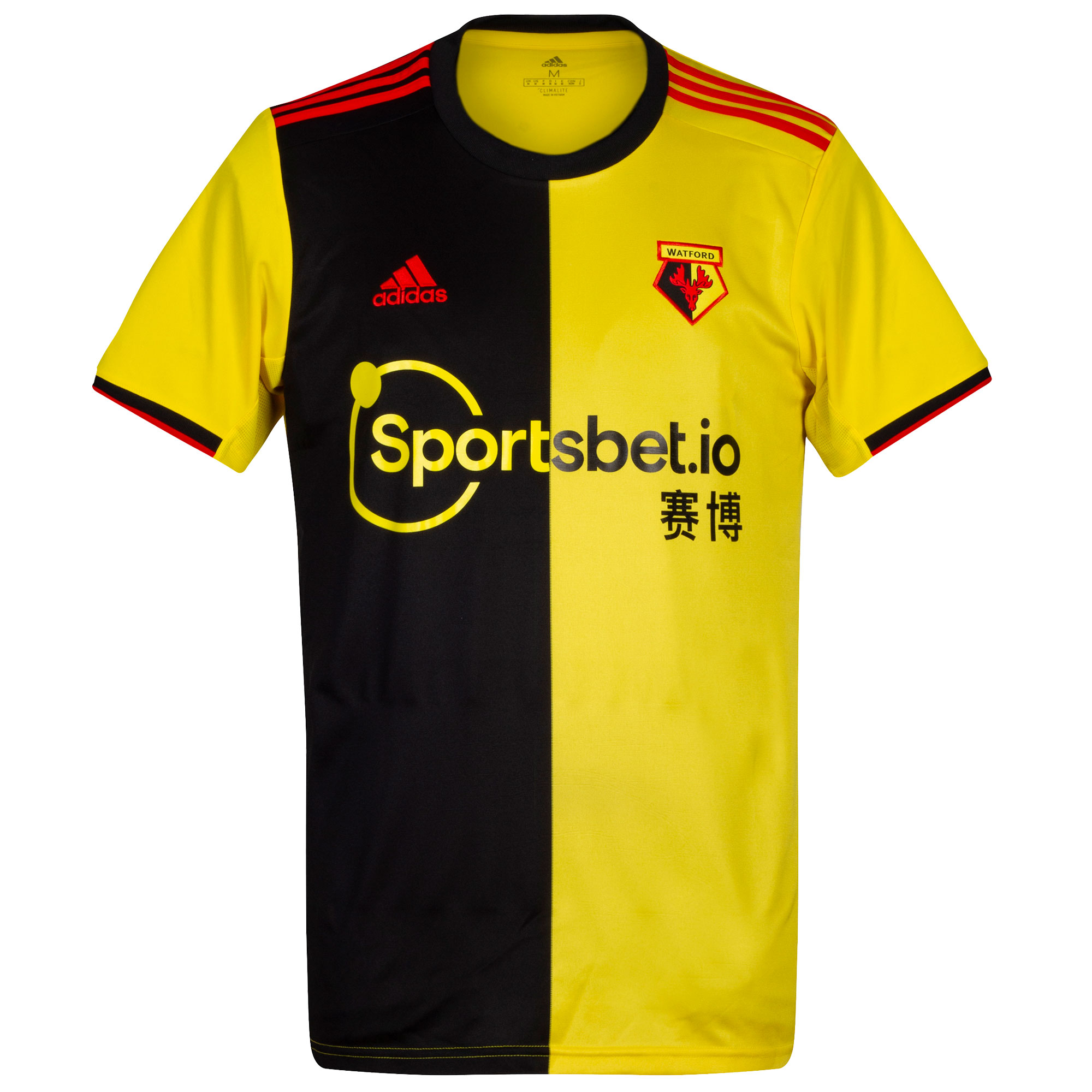 Watford home shirt