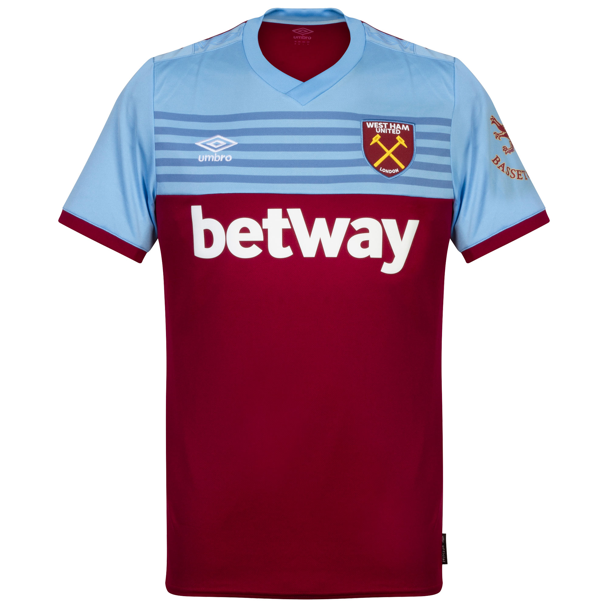 Umbro West Ham United Home Shirt 2019-2020