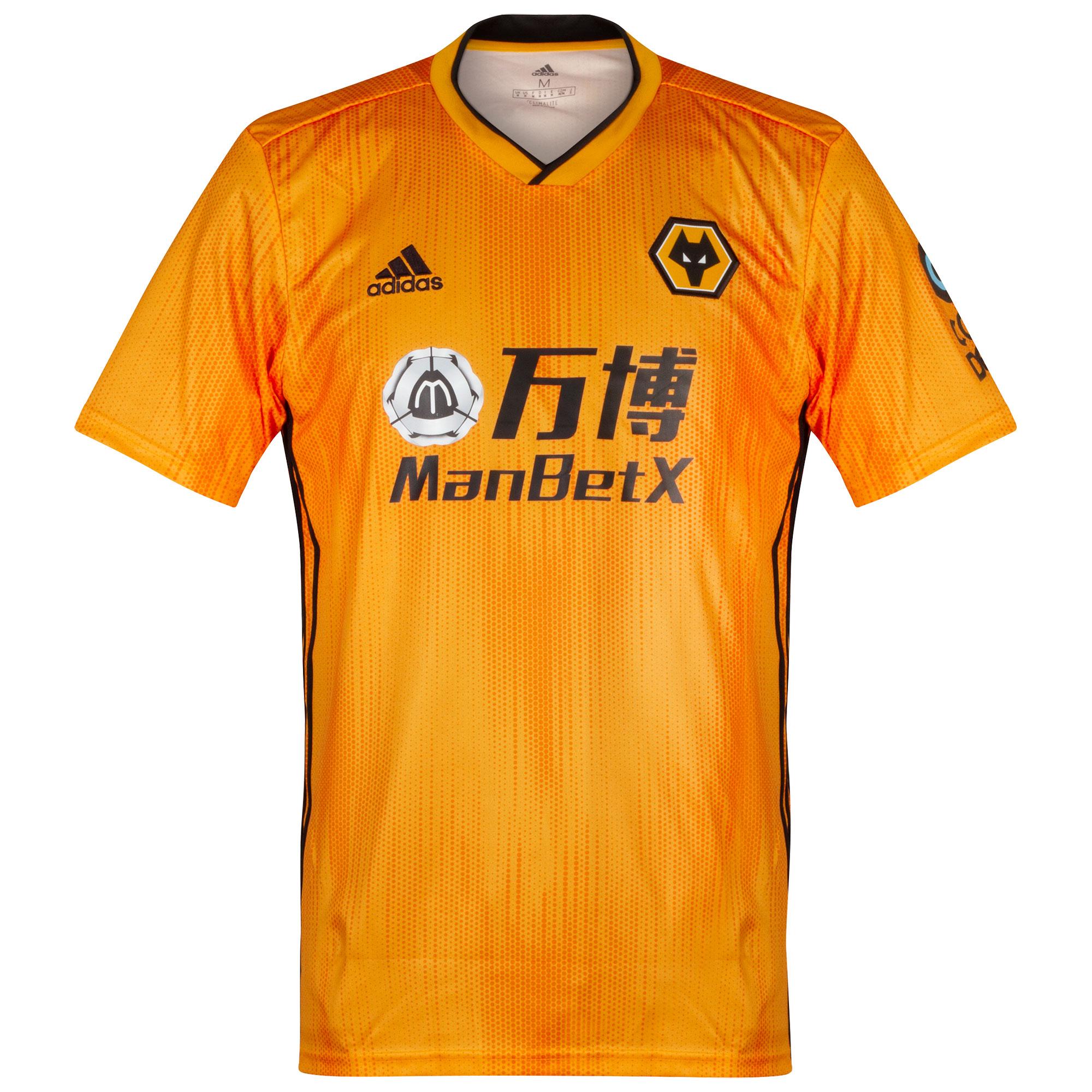 Wolverhampton Wanderers home shirt