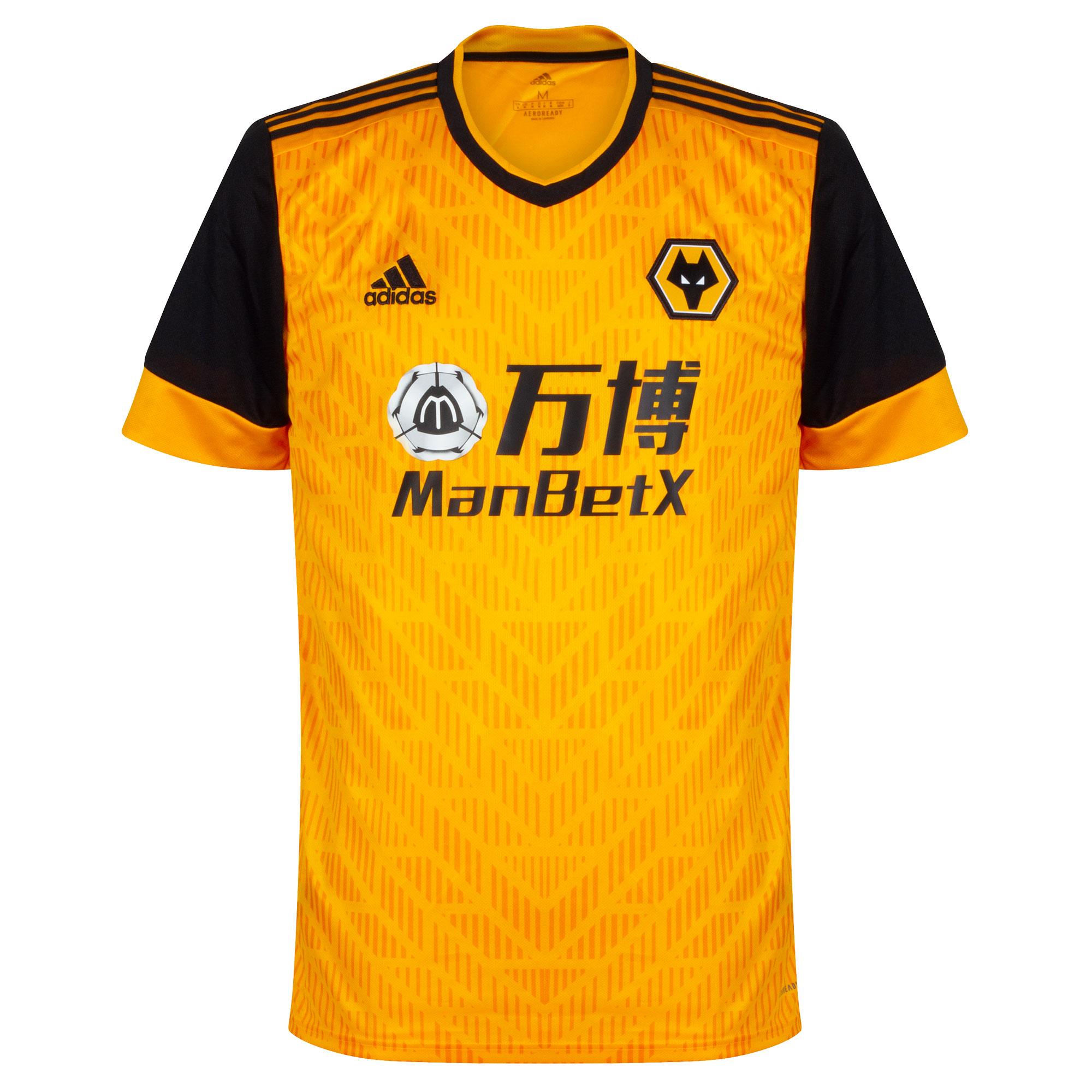 Wolverhampton Wanderers home baju