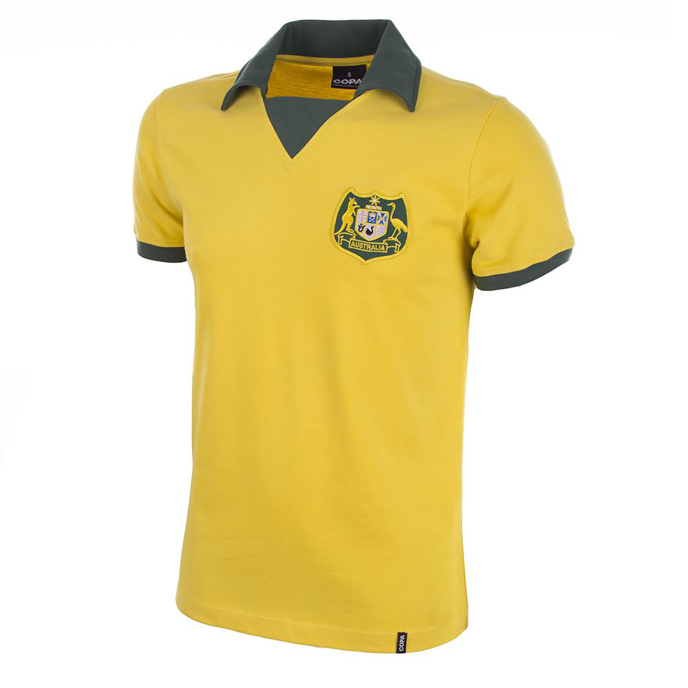 Copa Australia World Cup 1974 Home Retro Shirt